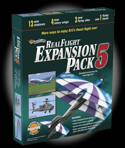 Robot MarketPlace - RealFlight G4 Expansion Pack 5