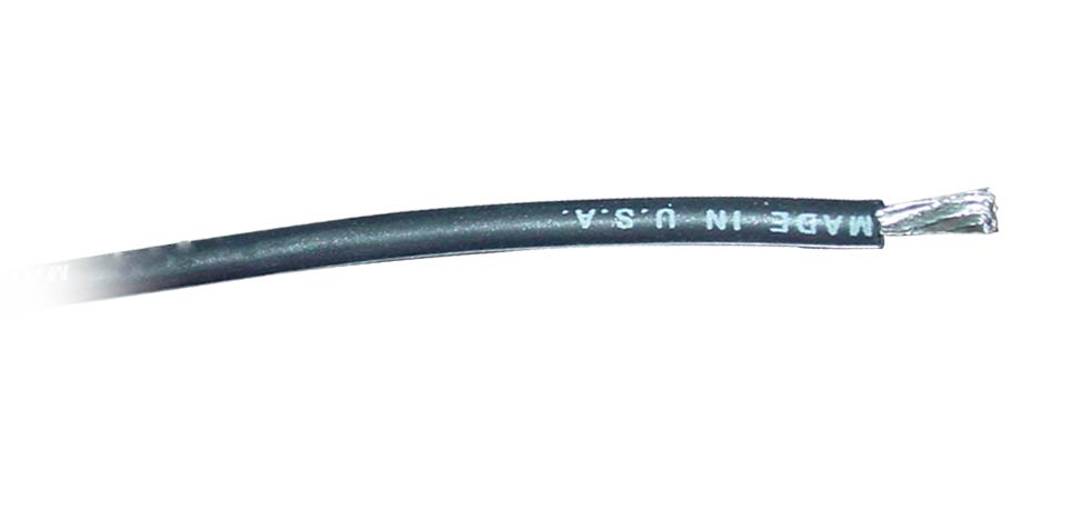 Common Sense RC - 18 Gauge Silicone Wire - Black #2W18AWG-100B