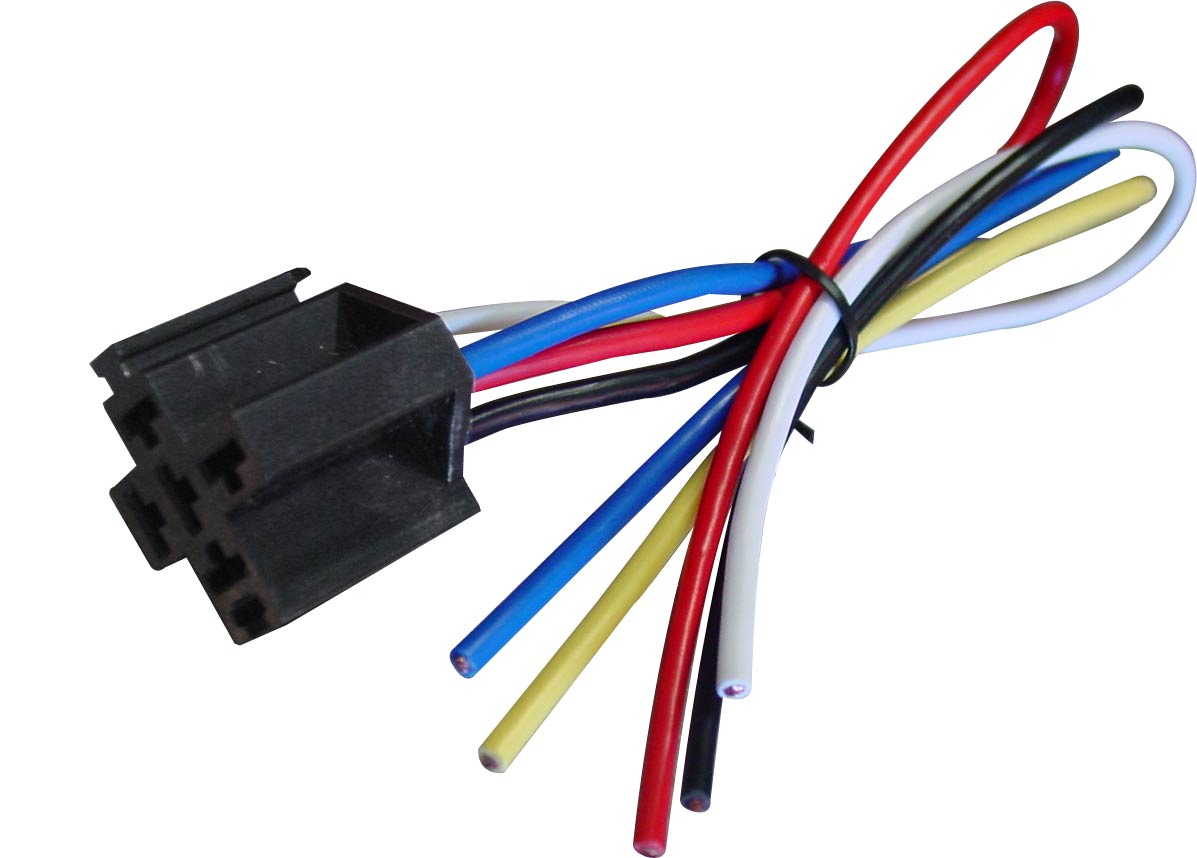Wh04 Wiring Harness With Rc Connector Robotshop