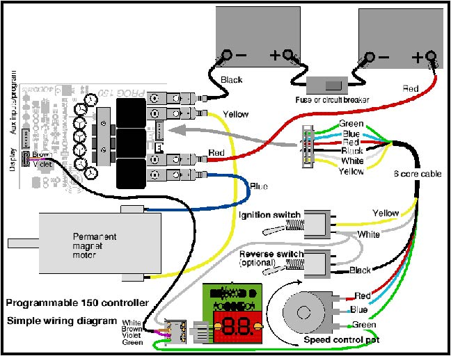 Golf Cart Speed Controller Wiring Diagram from www.robotcombat.com