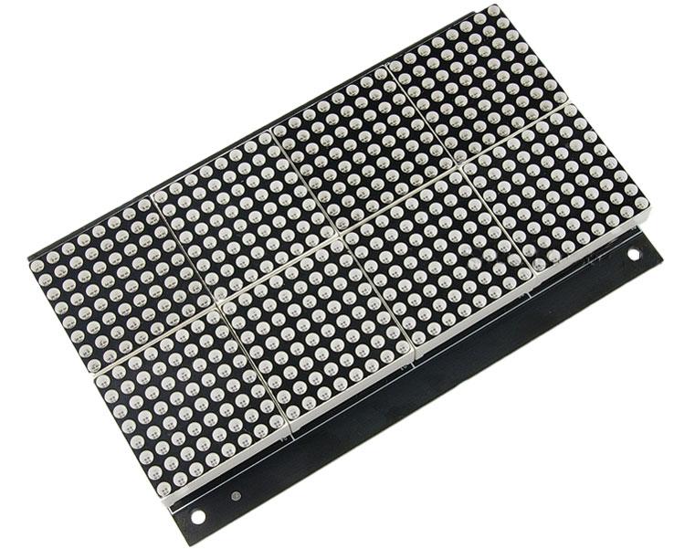 Robot MarketPlace - 32X16 RG Bicolor LED Dot Matrix Unit Board