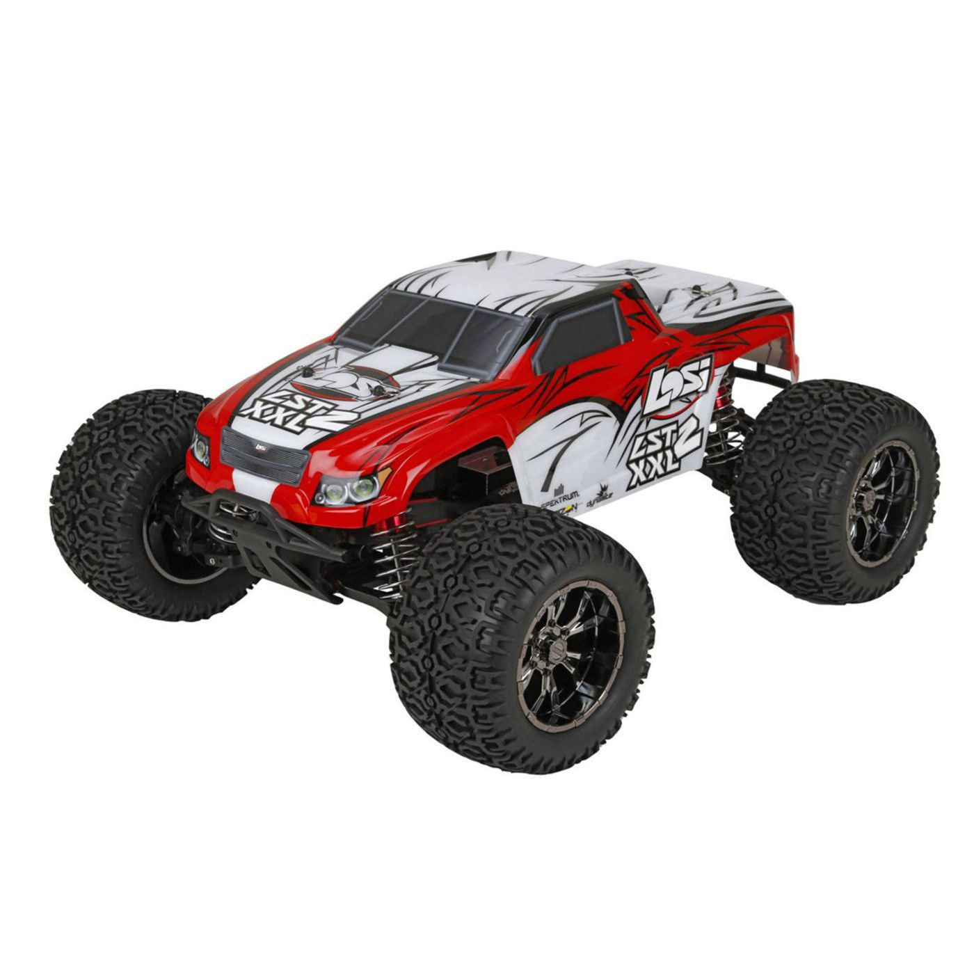 Losi 1 8 LST XXL 2 4WD Gas Monster Truck RTR with AVC Technology LOS