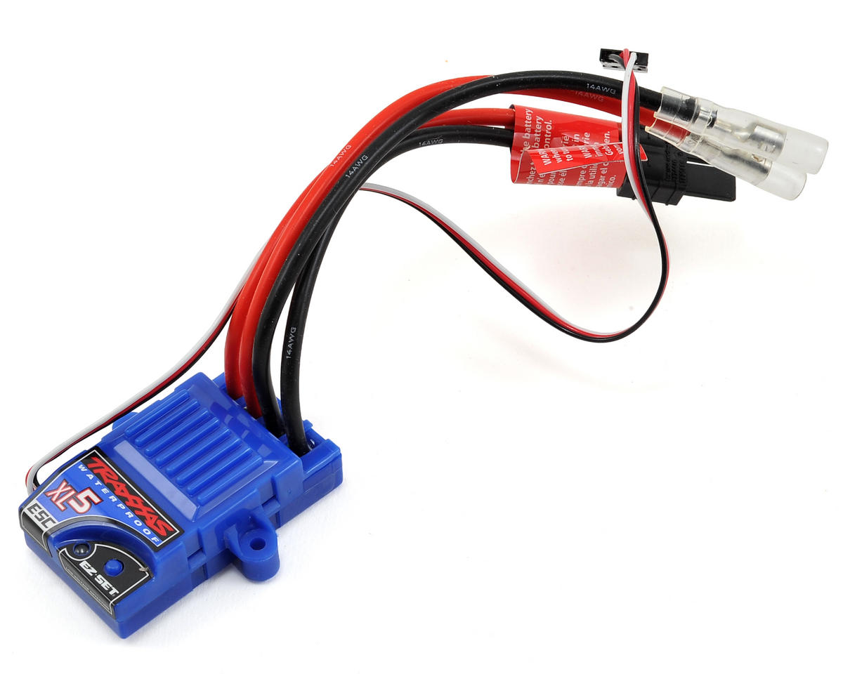 Xl 5 Esc Wiring Diagram Just Wirings Box Cdi Yf0712 Traxxas 3018r Waterproof Low Voltage Detection Rh Robotmarketplace Com Bec