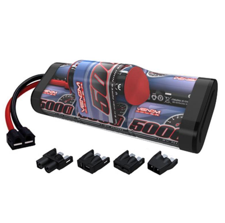 Venom 5000mAh 8 4V 7S Seven Cell NiMH Pack - Universal Connector