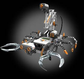 Robot MarketPlace - Lego Mindstorms NXT Robotics Invention System