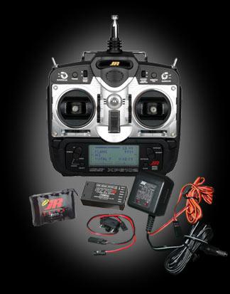 Robot MarketPlace - JR 72Mhz 6102 Aircraft FM Radio System