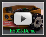 FiveBOT FB003 Demo - The Robot MarketPlace