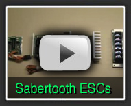 Sabertooth Dual Motor Speed Controllers - The Robot MarketPlace