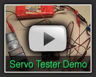 Servo Tester - The Robot MarketPlace